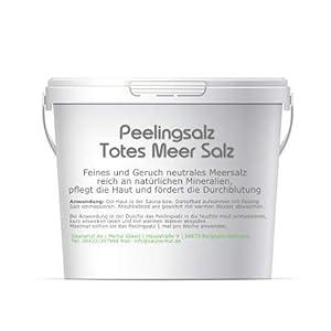 Feines Saunasalz Peeling Salz | aus dem Toten Meer | Duschsalz | Peeling Salz | Körperpeeling | Schrubsalz