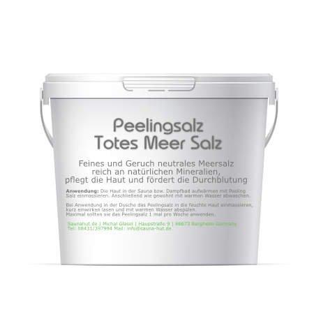 Feines Saunasalz Peeling Salz | aus dem Toten Meer | Duschsalz | Peeling Salz | Körperpeeling |...