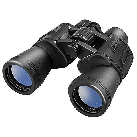 10 x 50 Fernglas,LESHP Binocular mit Tasche - Ideal für Wandern und Vogelbeobachtung Jagd Klettern Fußball