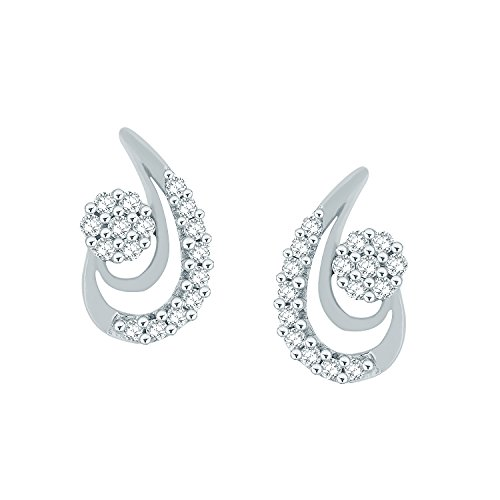 Giantti Diamant Boucle d'oreilles pendantes Femme (0,27CT, VS Clarté, Gh-colour)