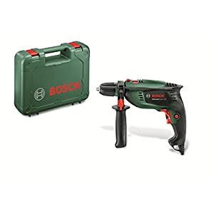 41h du7UbHL. SS300  - Bosch UniversalImpact 700 - Taladro Percutor (700 W, Empuñadura adicional, Tope de profundidad, Maletín)