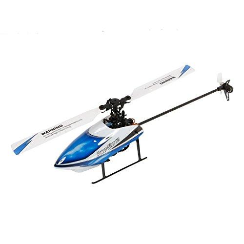 Preisvergleich Produktbild RC Helikopter - WLtoys V977 Power Star X1 6 Kanal 2.4G Brushless Motor 3D / 6G Flybarless RC Hubschrauber Blau
