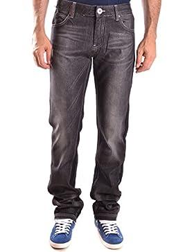 Frankie Morello Hombre MCBI125082O Negro Algodon Jeans