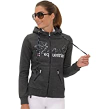 10fc4f2ed0a25c SPOOKS Sweatjacke Roxy Jacket Sequin Dark Grey Größe ...