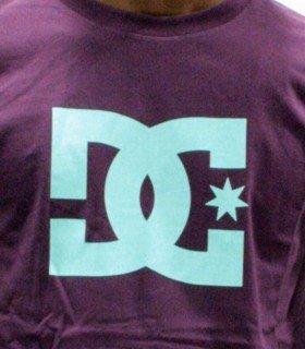 DC Shoes Herren T-Shirt Star Violett