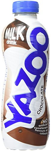 Yazoo Chocolate Milk Drink 400 ml (Pack of 10)