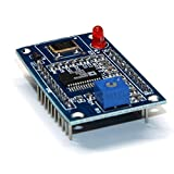 Leoboone A401 AD9850 Module DDS Signal Generator Module 0-40MHz Test Equipment 2 Sine Wave and 2 Square Wave Output for Arduino