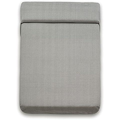 San Carlos Bascues - Colcha multiusos, cama matrimonio sofá 3 plazas, color gris