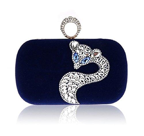 Diamante di Fox mini/Party clutch bag-D D