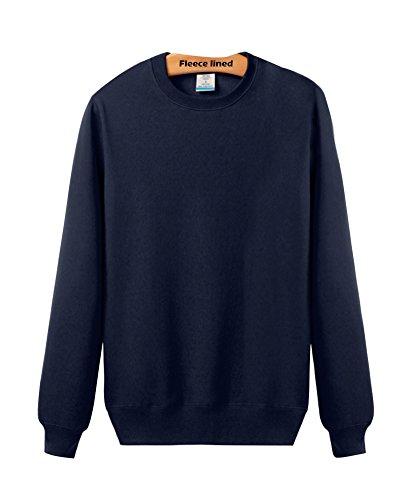 LaoZan Sweatshirt - Manche longue / Col ras du cou - Unisex Sweat-shirt Marine + hiver