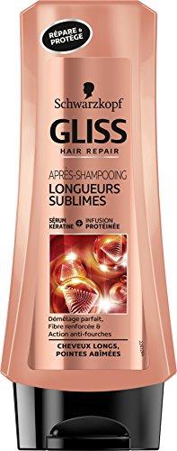 Schwarzkopf Gliss Longueurs Sublimes Après-shampooing 200 ml - Lot de 2