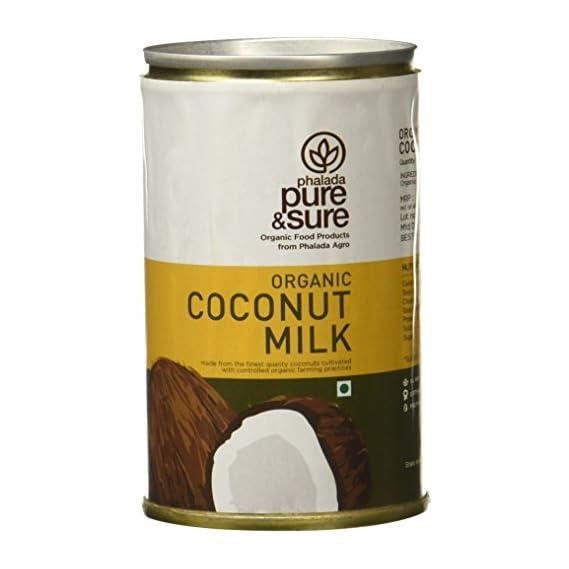 Pure & Sure Organic Coconut Milk, 160ml