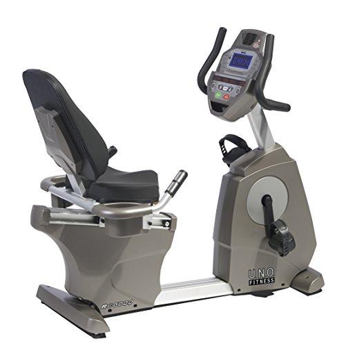 UNO Fitness Erwachsene Sitzergometer Recumbent RC 6000, 13020