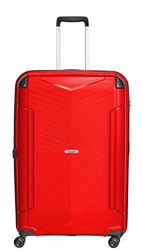 Packenger Silent Hartschale XL Koffer, 109 Liter, Rot