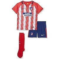 nike 847351 612 Camiseta, Niños, Rojo / Blanco, 5-6 Años