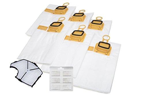 SDE Hepa Premium - Lote 6 bolsas aspiradora, filtro