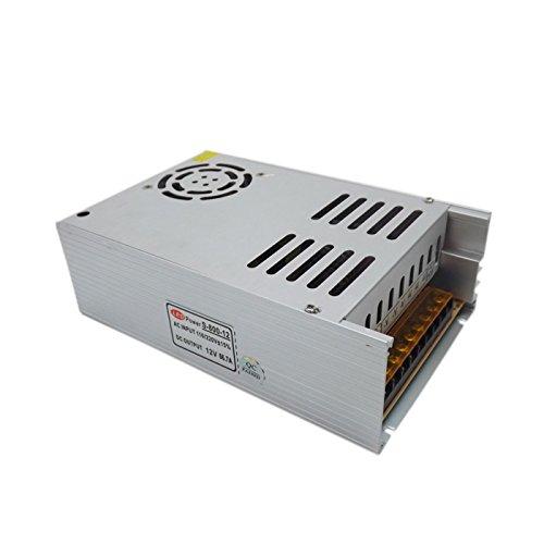 E-Simpo 1pcs 12V/24V LED fuente de alimentación, 600W/700W/800W 220V entrada de CA Interruptor Modelo fuente de alimentación, adaptador de alimentación de iluminación LED, carcasa de aluminio, non-rainproof, solo para uso en interiores