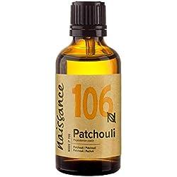 Naissance Huile Essentielle de Patchouli (n° 106) - 50ml - 100% pure, naturelle et distillée à la vapeur - végan et non testée sur les animaux