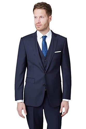 lanificio-flli-cerruti-dal-1881-cloth-mens-tailored-fit-new-navy-suit-2-piece-suit-40s-blue