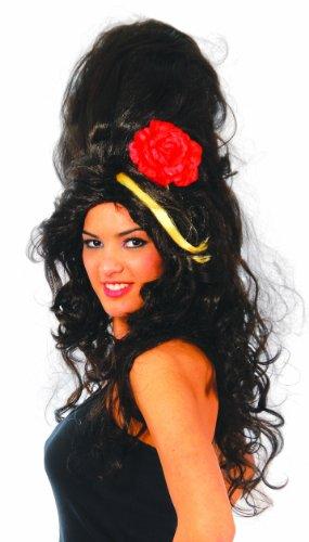 Popstar Beehive Hochsteckfrisur als Damen Perücke in (Hochsteckfrisur Kostüm Perücken)