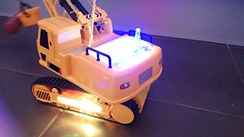 RC Auto kaufen Baufahrzeug Bild 3: Unbekannt RC 12 Kanal Kran SUPERCRANE 678 Ferngesteuerter Raupenkran LKW Mobilkran Bagger Funktionen wie beim Original - mit Sound & Licht - RTR*