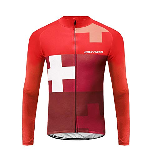 a6cf4fa47 Uglyfrog Winter Men s Long Sleeves Cycling Jerseys Road Bike Clothing CXHB03