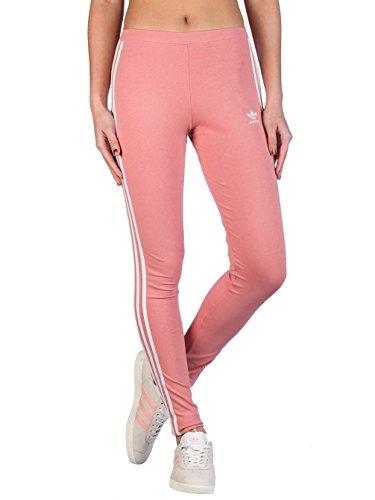 adidas Damen 3 Streifen Leggings, Ash Pink, - Frauen Für Sport-kleidung Von Adidas