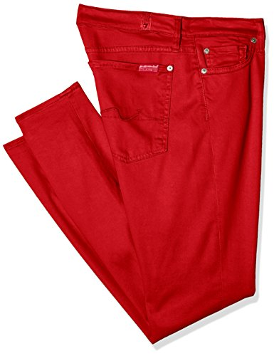 7-for-all-mankind-the-skinny-crop-jeans-mujer-rojo-red-w29-l27-talla-del-fabricante-29