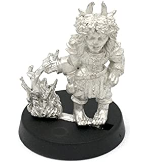 Stonehaven Gnome Shrouded Figure Rider Miniature Figure for 28mm Table Top Wargames Made in USA