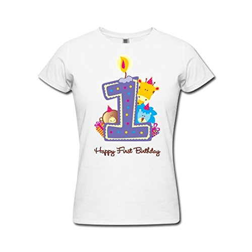 Pepperclub Girls Tshirt For 1st Birthday