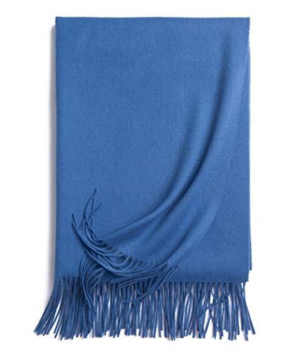 YQJDTD Schal Schal Lätzchen Erwachsenen Lätzchen Schal Schal im Freien Schal, Rum blau
