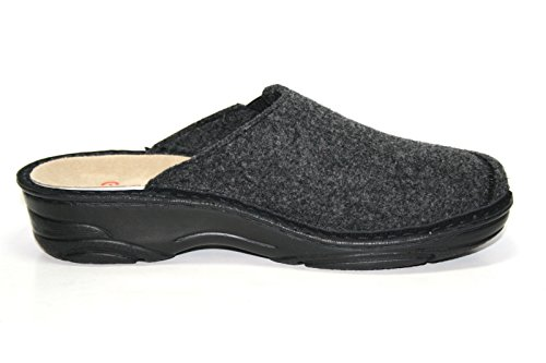 Berkemann, Pantofole donna Grigio grigio Grigio (Grau (dunkelgrau 937))