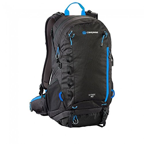 caribee-x-trek-40l-hiking-backpack-black-blood-orange