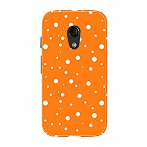 Fusion Gear Polka Dots pattern Case for Moto G (2nd Gen)