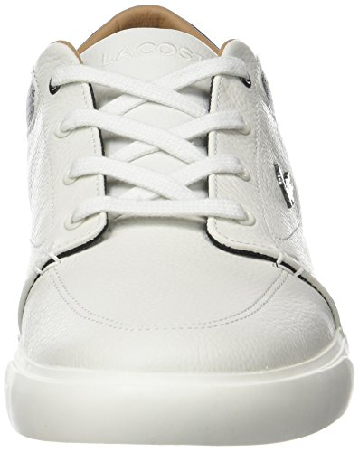 Lacoste Bayliss 118 1 Cam, Baskets Homme Blanc (Off Wht/Nvy)