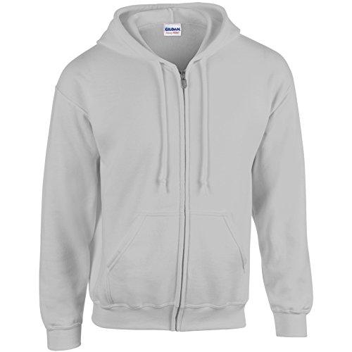 GILDAN  Herren Kapuzenpullover Grau - Grau (Sports Grey)
