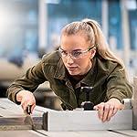 NoCry-Occhiali-di-sicurezza-con-lente-trasparente-antigraffio-anti-appannamento-avvolgenti-presa-antiscivolo-protezione-UV400