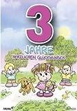 Archie Geburtstagskarte zum 3. Geburtstag Mädchen gelb Glückwunschkarte Kinder