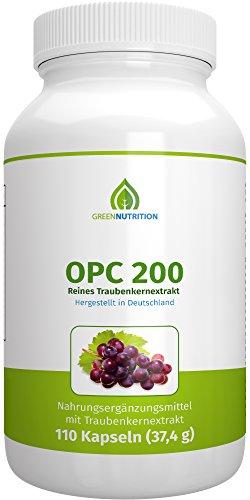 Green Nutrition | OPC 200 Traubenkern Extrakt
