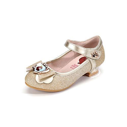 Mädchen Ballerina Heels Hochzeitskleid Schuhe Kinder Party Tanz Kristall Schmetterling Mary Janes...