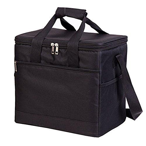 PANDA SUPERSTORE Picknick-Tasche im Freien 20L großer weicher kühler Isolierpicknick-Mittagessen-Tasche für den Lebensmittelgeschäft, kampierend, Auto, - Iglu Mittagessen Tasche Kühler