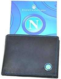 eaa7e8ae88 Portafoglio Ssc Calcio Napoli Uomo Vera Pelle Prodotto Ufficiale Enzo  Castellano