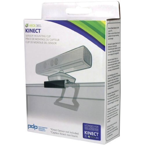 PDP - Soporte Clip Kinect Sensor TV Xbox 360