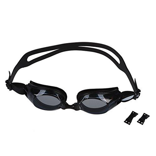 SODIAL (R) Erwachsene Anti-Wolk-Schwimmbrille Brille PC Objektiv Angebot UV-Schutz