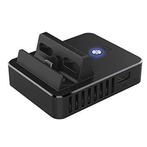 Dock Base TV-Ladestation Switch-Kühlhalterung Display-Adapter schwarz ()