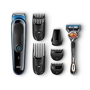 Braun All-in-One Bartschneider und Haarschneidemaschine MGK 7021