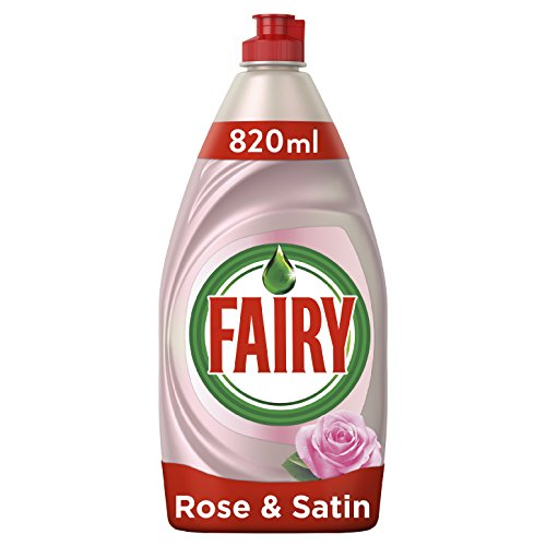 Fairy reinigen und pflegen Spülmittel 820ml, Rose und Satin, 8Stück (Viii Satin)