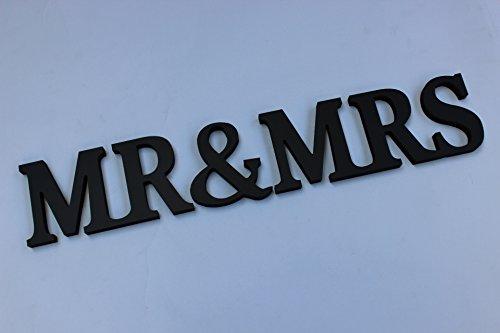 Schriftzug aus Holz / PVC, Buchstaben, für Heimdekoration / Werbung / Hochzeit / Geburtstag, Dekoration