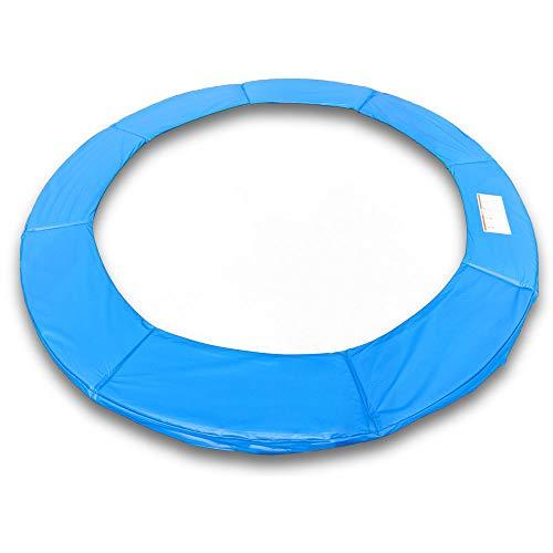 ms-point Randpolsterung Gepolsterte Federabdeckung Rahmenpolsterung für 250cm Trampoline Breite 23cm Stärke 18mm in Blau