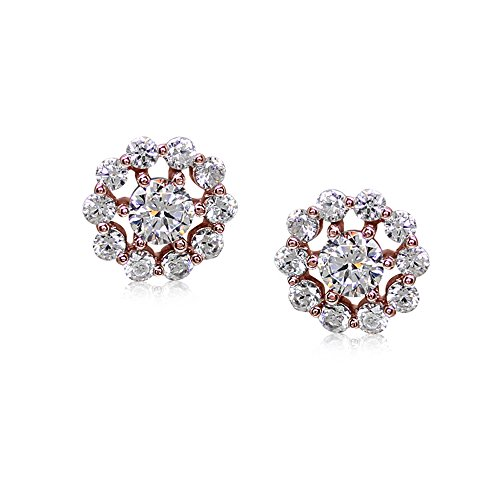 carat-london-womens-sterling-silver-round-flora-rose-gold-finish-stud-earrings